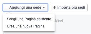 inserimento luogo facebook locations