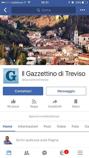 come personalizzare i pulsanti di Facebook da mobile