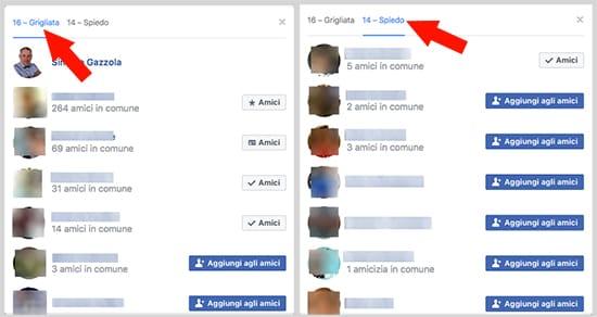 Risultati sondaggio Facebook