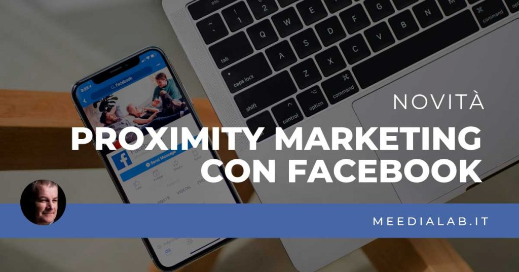 proximity marketing con facebook