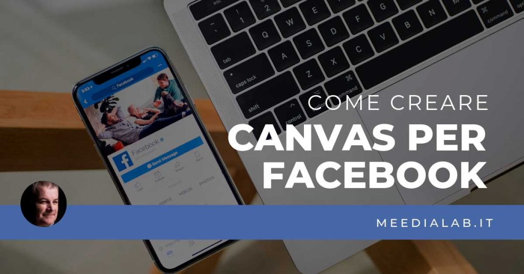 come creare canvas per facebook