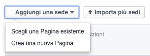inserimento luogo facebook locations