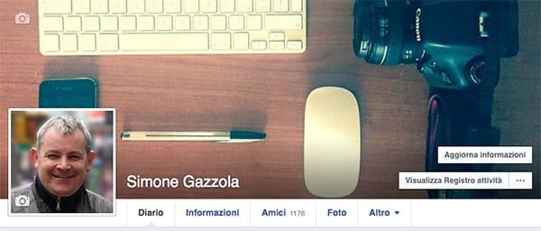 layout profilo privato facebook