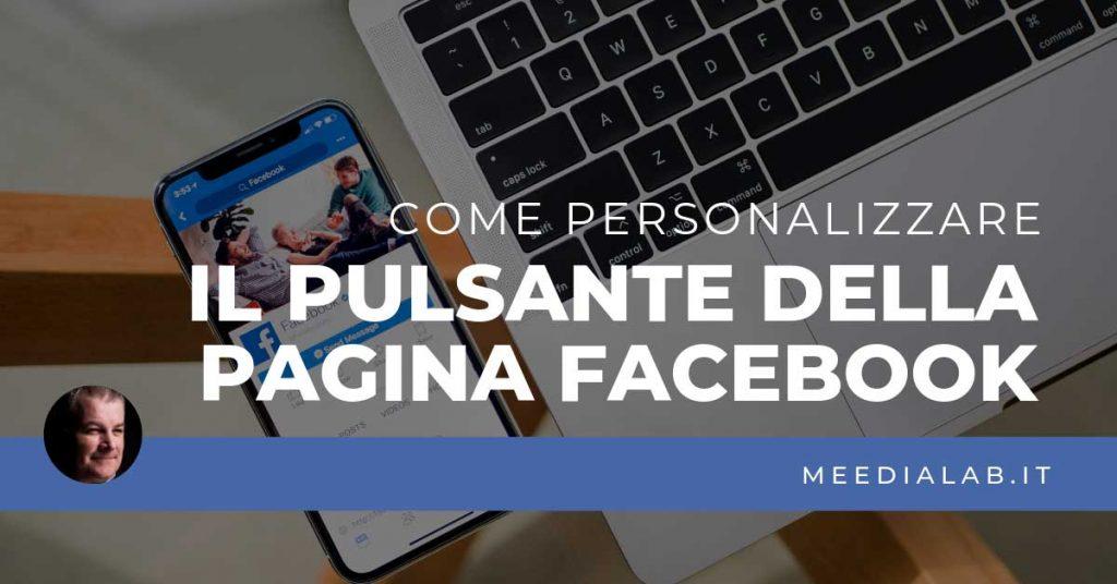 personalizzare pulsante pagina Facebook